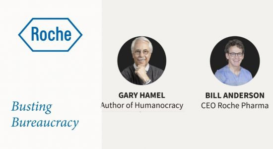 Replay of LinkedIn Live: busting bureaucracy and humanizing work